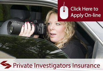 private investigators professional liability insurance