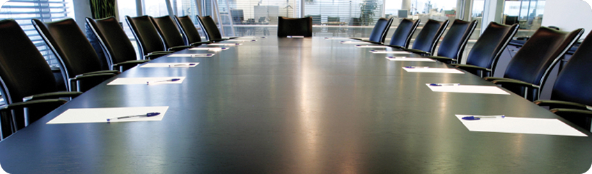 board room for directors of a corporation