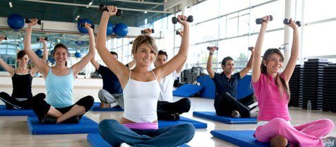 fitness club yoga classes