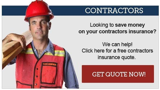 Get a quote now for contractors insurance