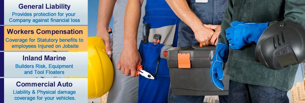 coverages offered by contractors insurance policy for the basic 2 million coverage