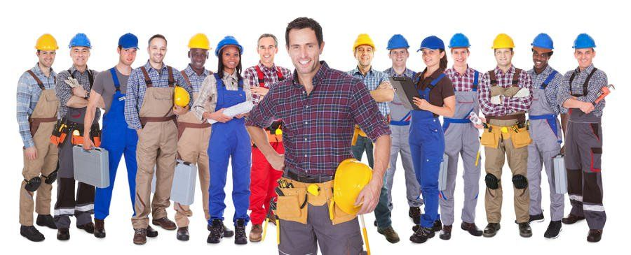 different type of ontario contractor professionals