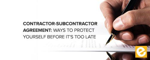 protecting your business from a subcontractors liability